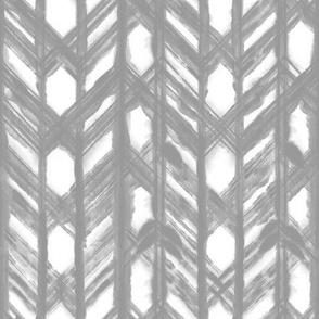 Shibori Lattice - Gray
