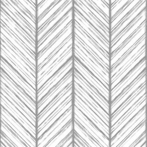 Shibori Herringbone - Gray