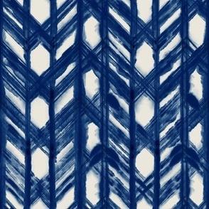 Shibori Squares - Gray