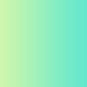 Ombre Yellow_Mint