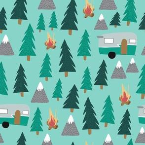 Camping - Green
