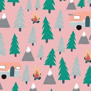 Camping - Pink