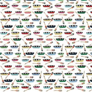 canoe paddles - white MED 84
