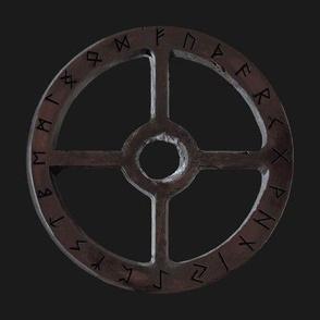 Sunwheel with Runes