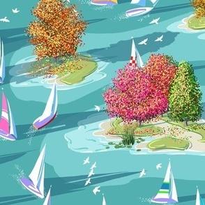 Lake Regatta Autumn