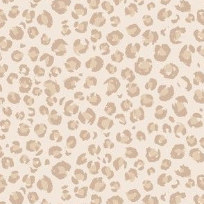 mini micro // 2020 Animal Print faded Light taupe and creamy beige