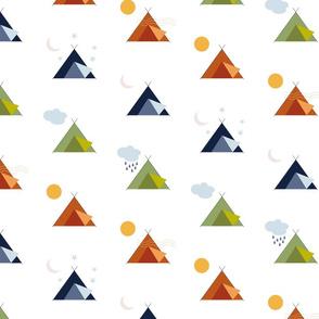 mini campsite - weather report