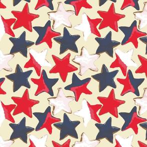 Centennial Cookie Stars