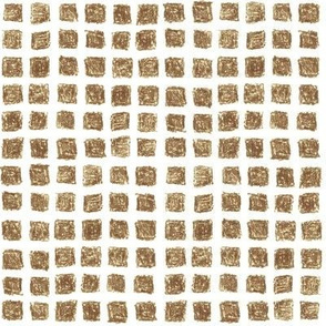 crayon square grid in brown