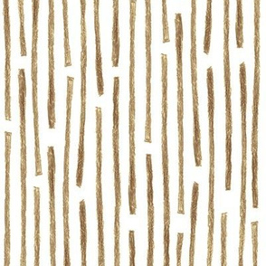 crayon vertical stripes in brown