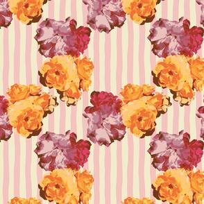 Roses & Stripes (Pink)