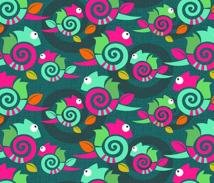 Spiral chameleon