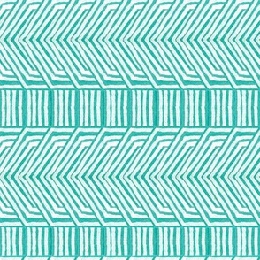 Jasper Arrows in Turquoise