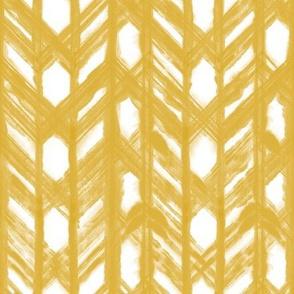 Shibori Lattice - Goldenrod
