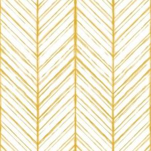 Shibori Herringbone Light - Goldenrod