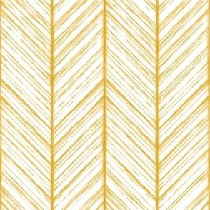 Shibori Herringbone - Goldenrod