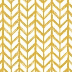 Shibori Chevrons - Goldenrod