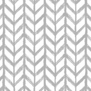 Shibori Chevrons - gray