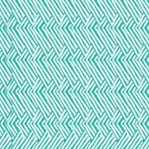 Jasper Long Weave in Turquoise