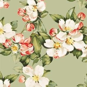 Hudson Floral in Green