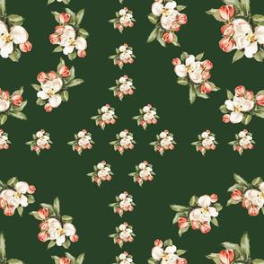 Hudson Insignia Floral in Dark Green