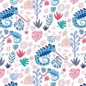 Chameleon pattern 13-01