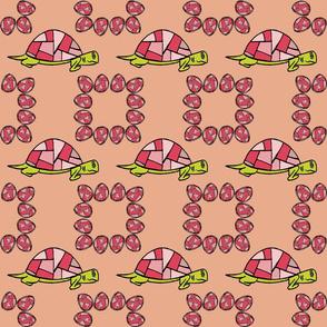 Turtle Print - Pink