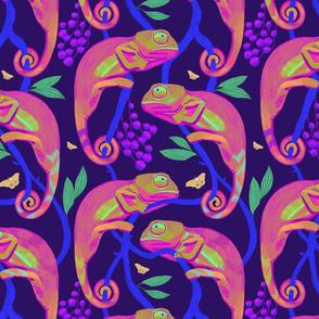 Chameleon pink