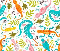 Lizard party