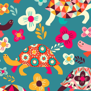 happy turtles // large scale