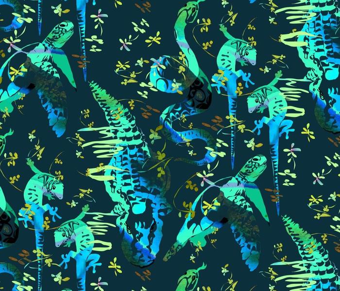 Reptiles in Water