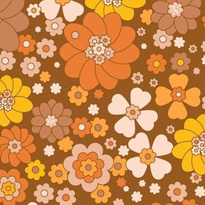 Baby Flower Power- Caramel
