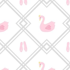 swan trellis