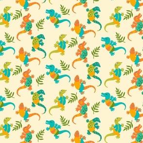 Happy Reptile Lizard Dance