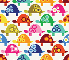 Brightly-Colored Tortoises