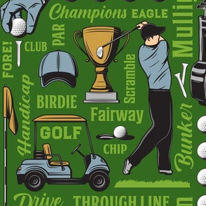 Golf Terms18-Green