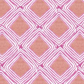 Jasper Diamonds in Pink