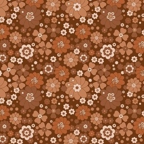 REDUCED Baby Flower Power- Mocha Bisque
