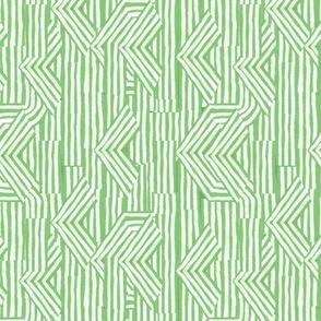 Jasper Arrow Stripe in Green