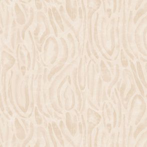 20-6aa Abstract Nautical Flax Cream Neutral Wave Home Decor