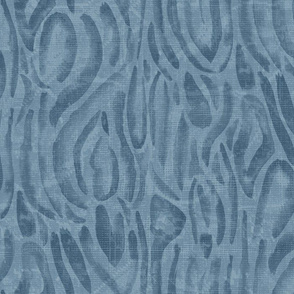 20-6z Abstract Nautical French Blue Wave Wood Grain