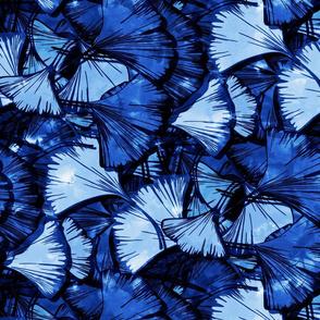 "Blue Ginkgo, 18.5"""