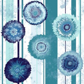 Dye Garden - Blue Stripes