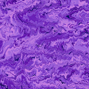 Marbled Endpaper--purple