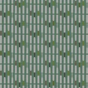 Oboe Reeds Stripe Spice Green