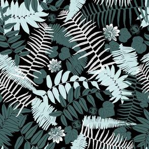 Suburban jungle greenmint smallflower