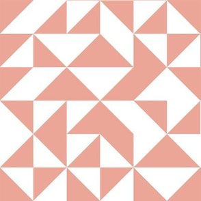 melimba HALF SQUARE TRIANGLE pink