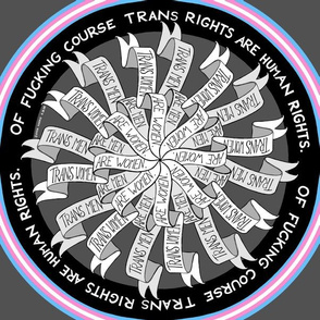 Trans Rights Are Human Rights (dark)
