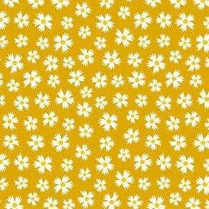 Ditsy Floral Mustard