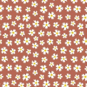 Ditsy Floral on Rose